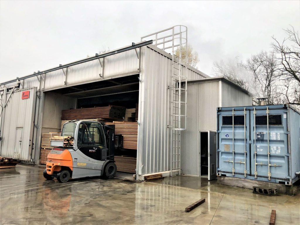 essicatoio - kiln drying