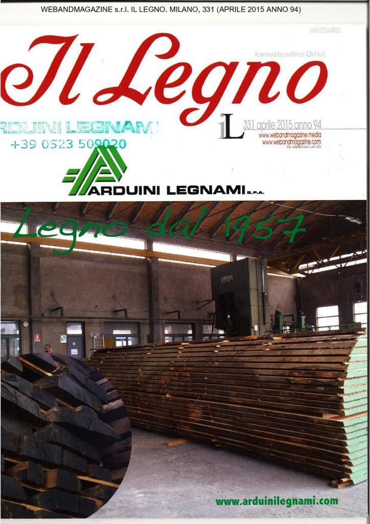 Web and Magazine s.r.l. (a cura di) (2015). Il Legno. Milano. vol.331(anno 94)